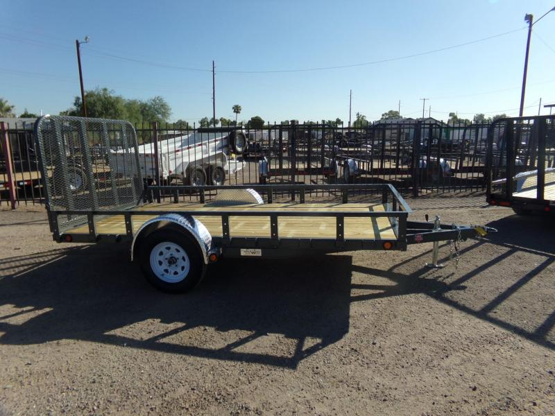 2019 PJ Trailers RAMP UTILTY Utility Trailer