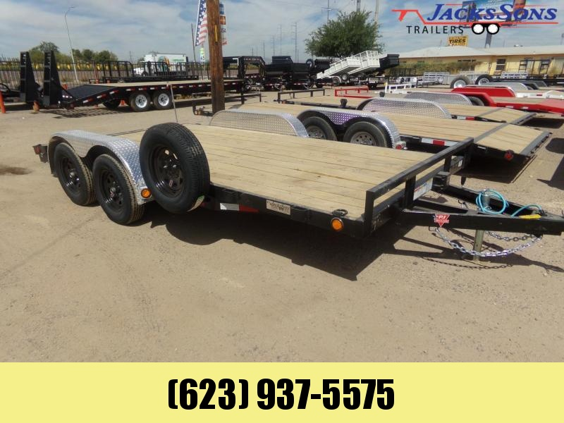 2020 PJ Trailers 16 X 83 CARHAULER DOVE TAIL W/XTRAS Car / Racing Trailer