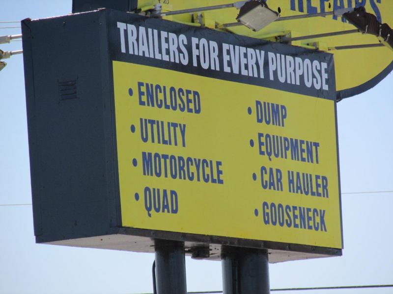 2019 Load Trail 83x24 Equipment Trailer