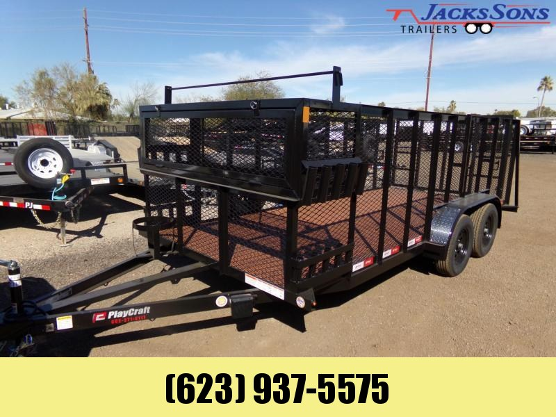 2020 Playcraft 16 X 77 LANDSCAPE TRAILER FULLY EQUIPPED TO WORK Utility Trailer