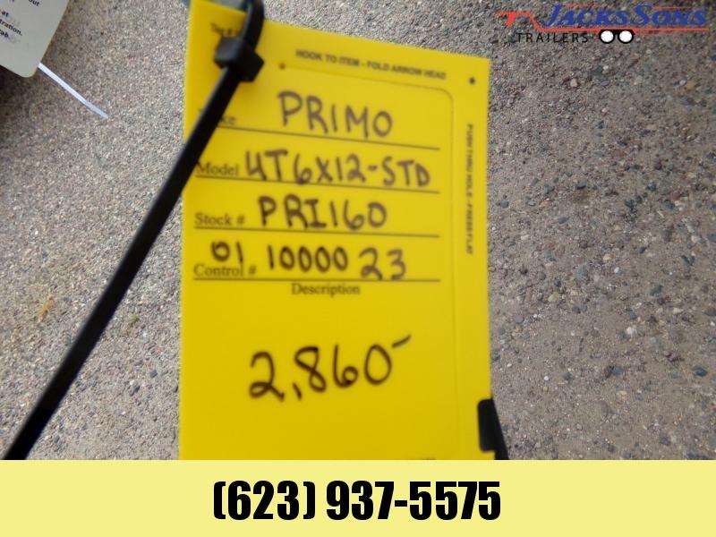 2021 Primo 6 X 12 ALL ALUMINUM UTV/UTILTY Utility Trailer