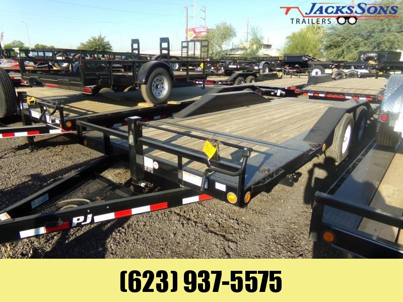 2019 PJ Trailers 20 FT TILT 14K CAR / EQP. HAULER Car / Racing Trailer