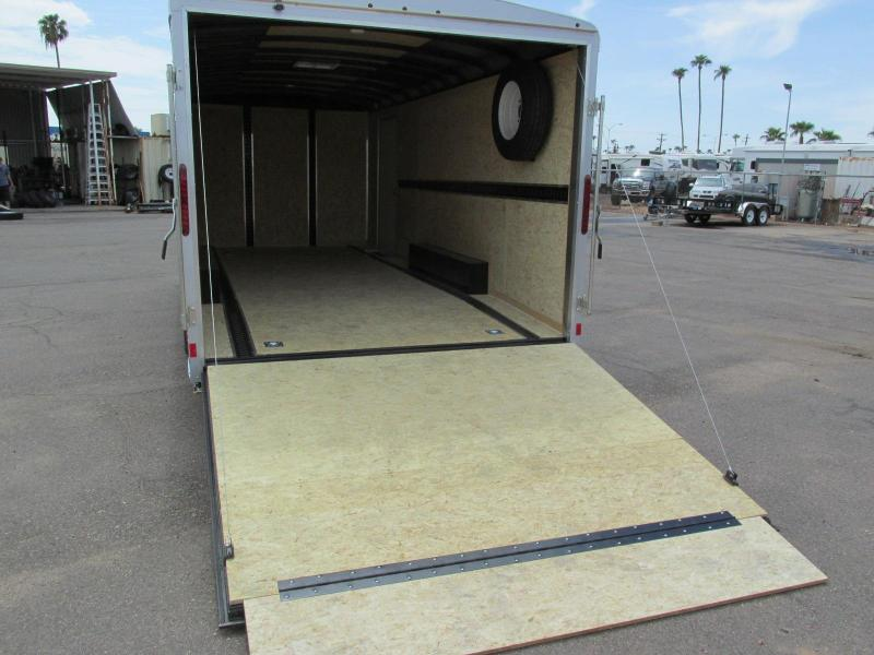 20x8.5 Enclosed Car Trailer Rental