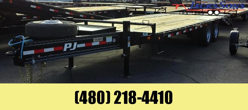 2020 PJ Trailers 25' LOW PRO PINTLE WITH DUALS Flatbed Trailer