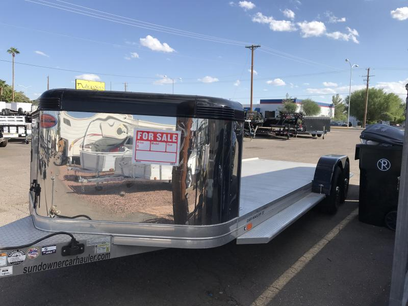 2019 Sundowner Trailers 83X22 Car / Racing Trailer
