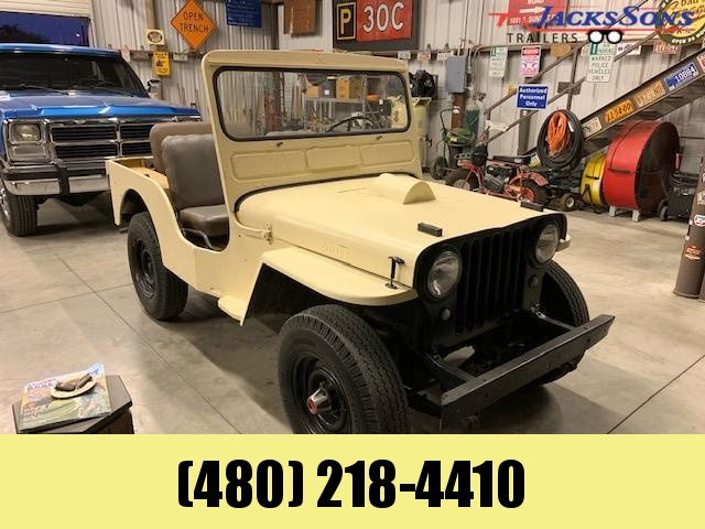 1952 Jeep CJ3A SUV