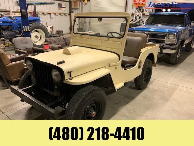 1952 Jeep CJ3A SUV