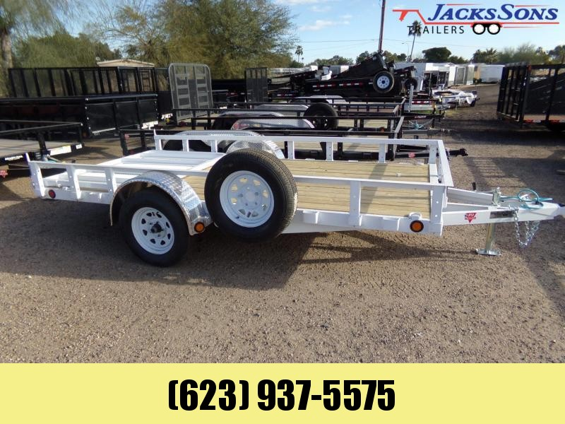 2020 PJ Trailers 12 X 72 UTV / UTILITY RAMP GATE W/BRAKES ATV Trailer