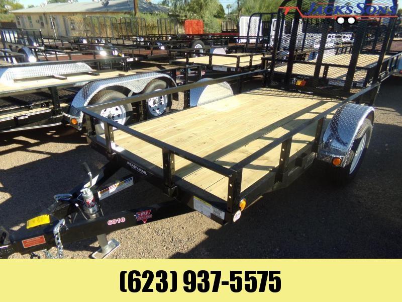 2020 PJ Trailers 6 X 10 ATV /UTILTY RAMP GATE TRAILER Utility Trailer