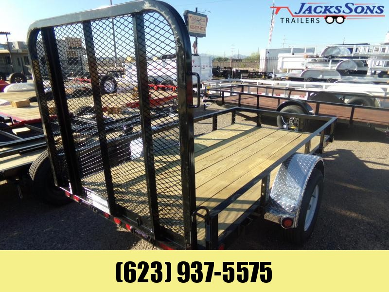 2020 PJ Trailers 6 X 10 ATV /UTILTY RAMP GATE TRAILER Utility Trailer