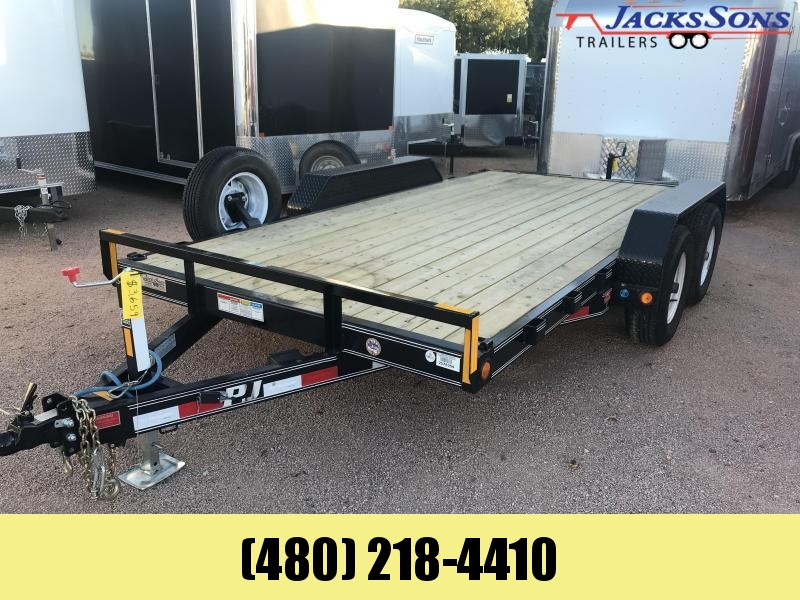 2018 PJ Trailers 83X14 Equipment Trailer