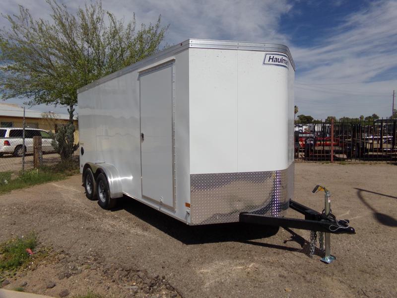 2019 Haulmark 7X16 TRANSPORT RAMP DOOR  CARGO Enclosed Cargo Trailer