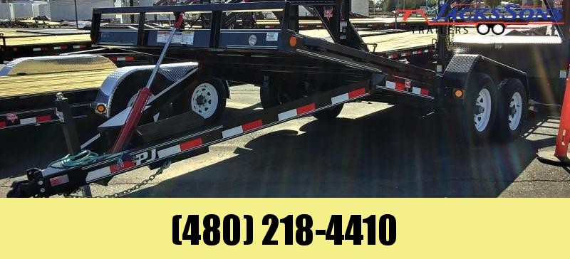 2020 PJ Trailers 20X83 HYDRAULIC QUICK TILT Equipment Trailer