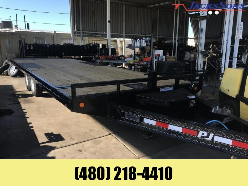 2020 PJ Trailers 24 DECKOVER TILT Equipment Trailer