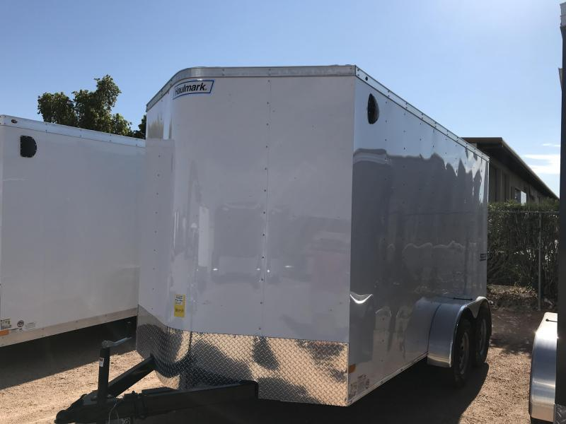 2019 Haulmark 7x14 Enclosed Cargo Trailer