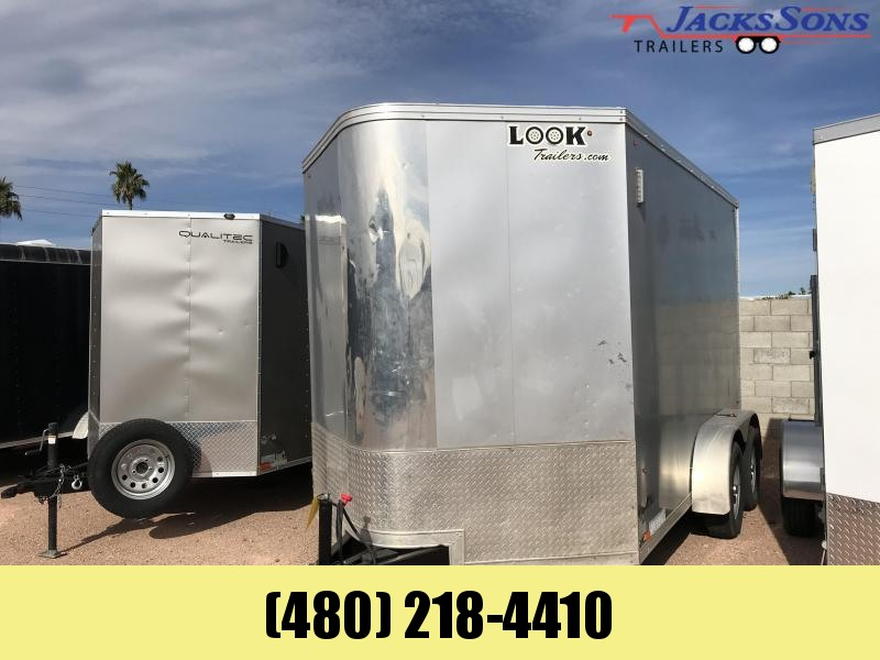 2016 Look Trailers 7X12 Enclosed Cargo Trailer