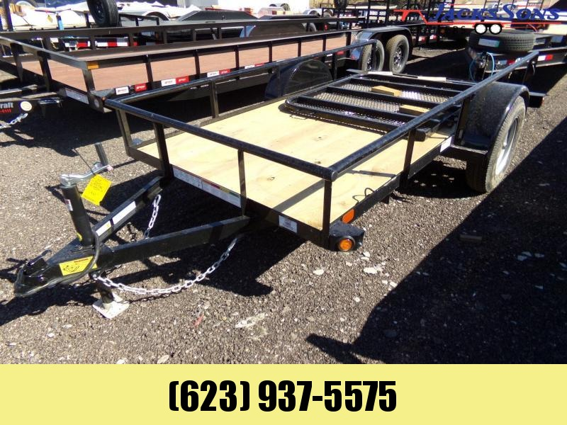 2020 PJ Trailers 5 X 10 ANGLE RAMP GATE UTILTY Utility Trailer