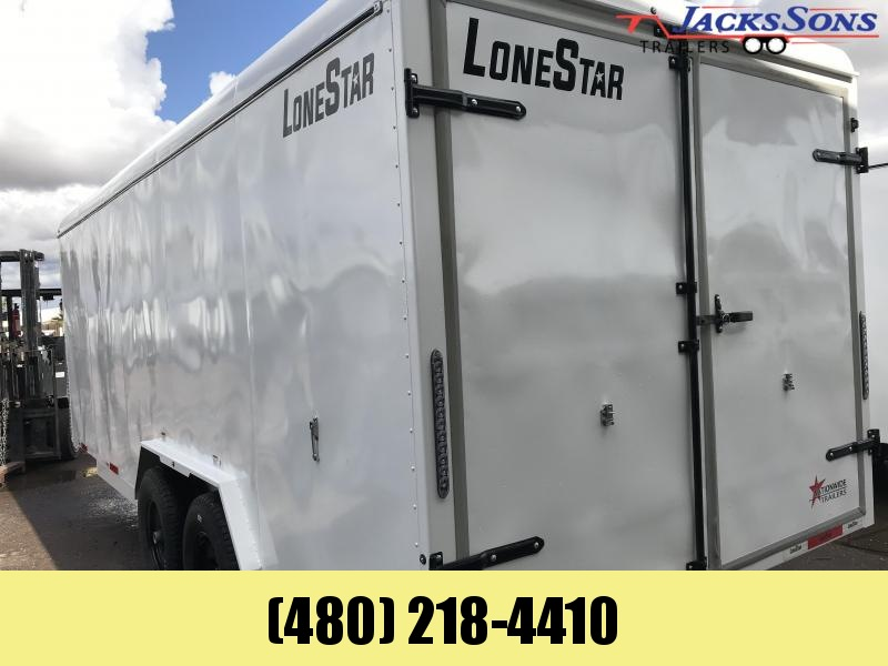 2020 Lonestar 7.1X20 Enclosed Cargo Trailer