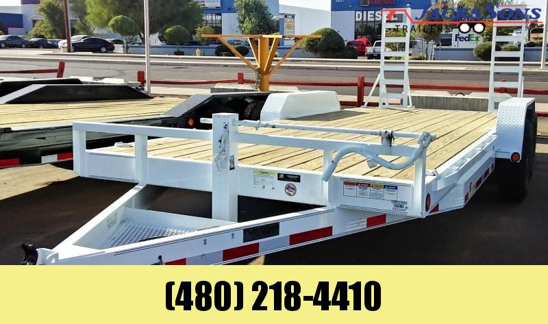 2020 PJ Trailers 20X6 CHANNEL EQUIPMENT Equipment Trailer
