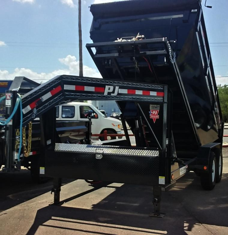 2019 PJ Trailers 14 ROLLSTER ROLL OFF DUMP Dump Trailer