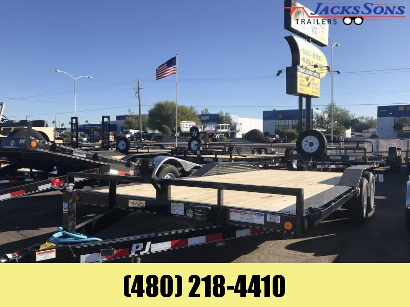 2020 PJ Trailers 102X20 Equipment Trailer