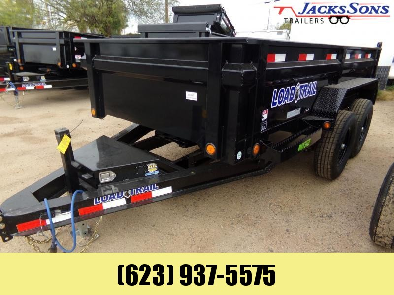 2020 Load Trail 12 X 6 10K DUMP TARP RAMPS Dump Trailer