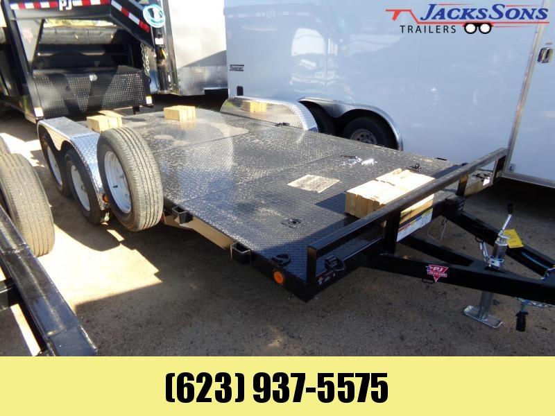2020 PJ Trailers 16 X 83 STEEL DECK CAR HAULER Car / Racing Trailer