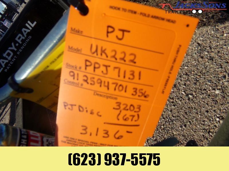 2019 PJ Trailers 22 X 77 UTV ATV RAMP GATE Utility Trailer