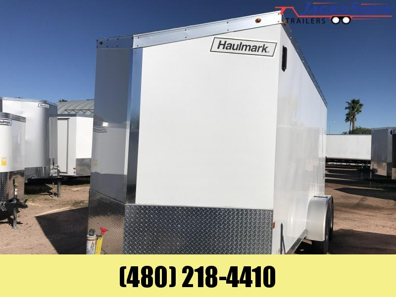 2017 Haulmark 7X16 Enclosed Cargo Trailer