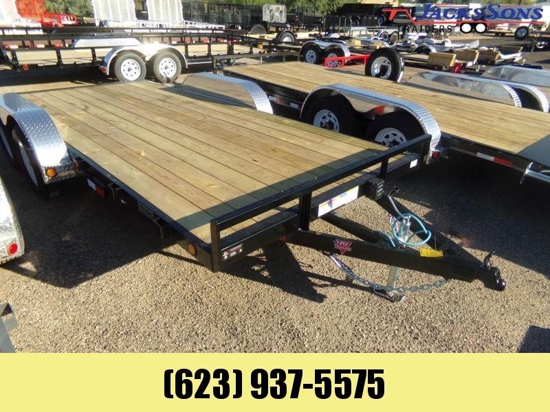 2020 PJ Trailers 16 FT CAR TRAILER / RACE CH4162 Car / Racing Trailer