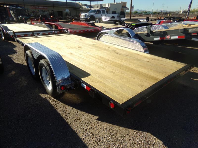 2020 PJ Trailers 16 FT CAR TRAILER / RACE CH4162 Car / Racing Trailer