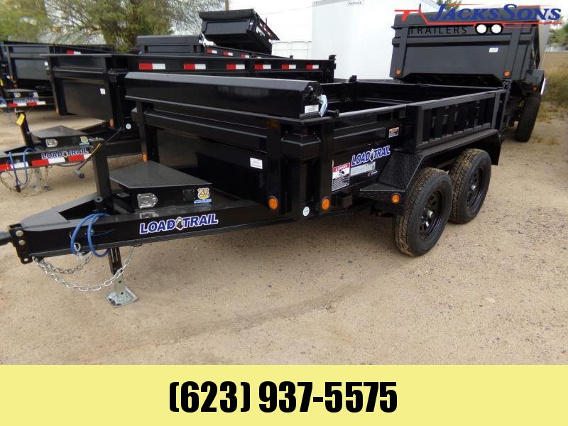2020 Load Trail 10 X 6 7K DUMP TRAILER TARP RAMPS Dump Trailer