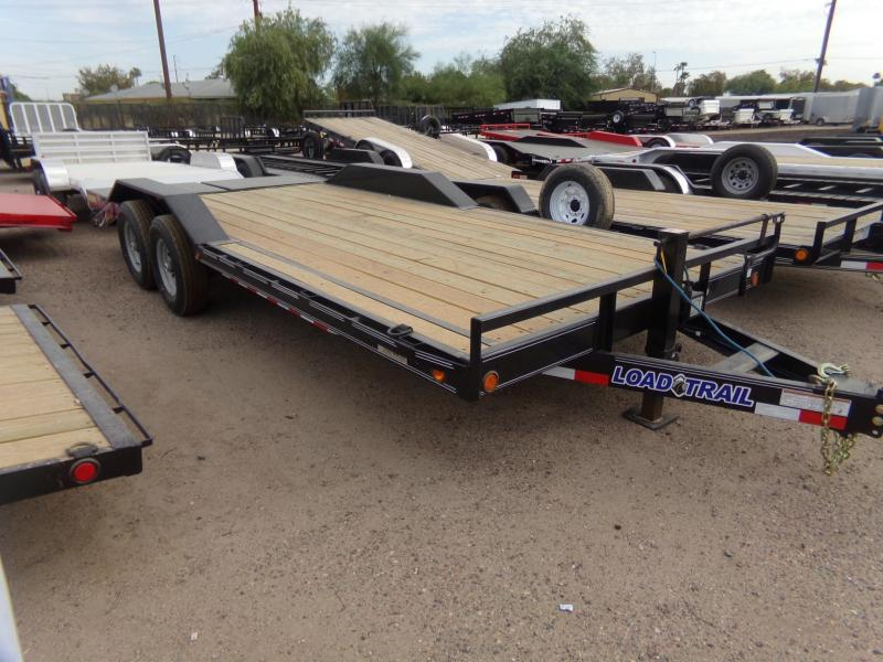 2019 Load Trail 102 WIDE 14K CAR / EQUIPMENT HAULER MAX RAMPS Car / Racing Trailer
