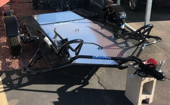 2019 Kendon RIDE UP DUAL TRANSPORT Motorcycle Trailer