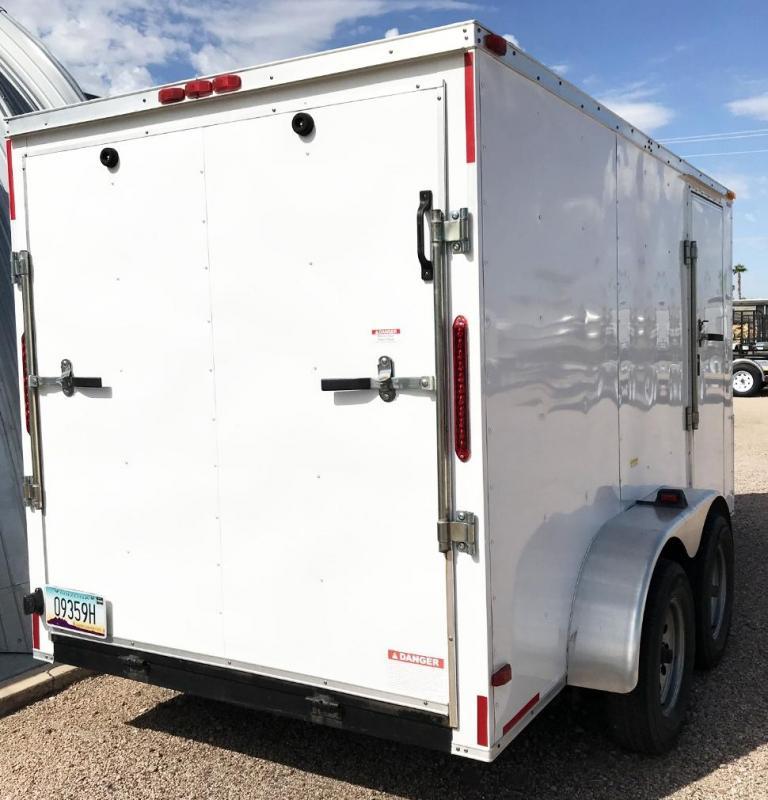 USED 2013 South Georgia 6X12 CARGO Enclosed Cargo Trailer