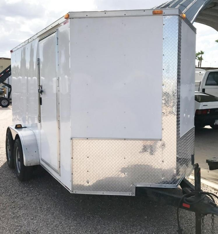 USED 2013 South Georgia 6X12 CARGO Enclosed Cargo Trailer
