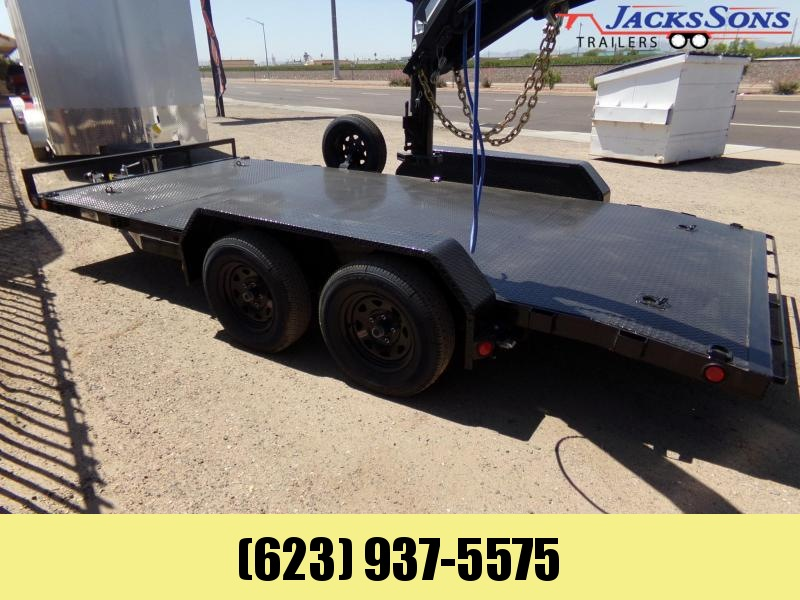 2020 PJ Trailers 16 FT. CAR HAULER STEEL DECK Car / Racing Trailer