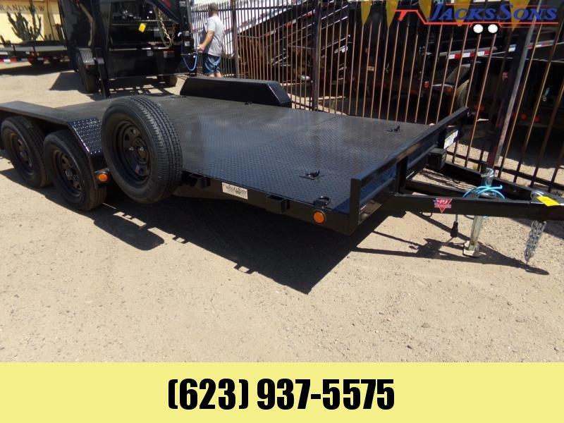 2020 PJ Trailers 16 FT. CAR HAULER STEEL DECK Car / Racing Trailer