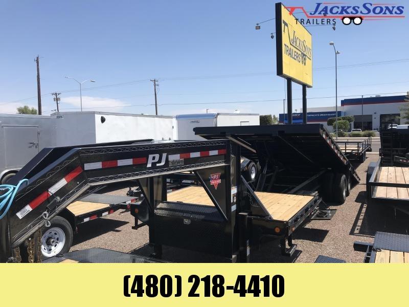 2020 PJ Trailers 102x30 TILIT Equipment Trailer