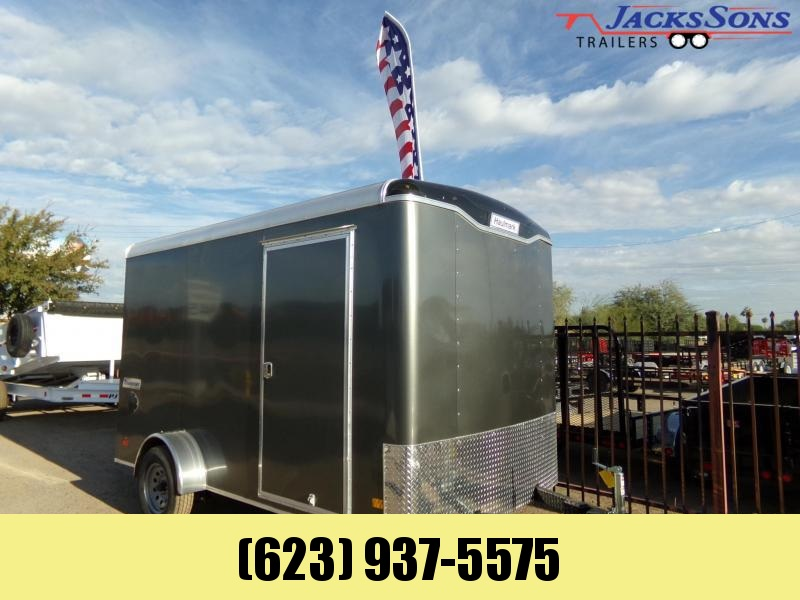 2019 Haulmark 12 X 7 TRANSPORT SINGLE AXLE EXTRA HEIGHT Enclosed Cargo Trailer