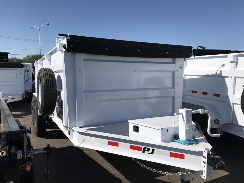 2020 PJ Trailers 83X16 Dump Trailer