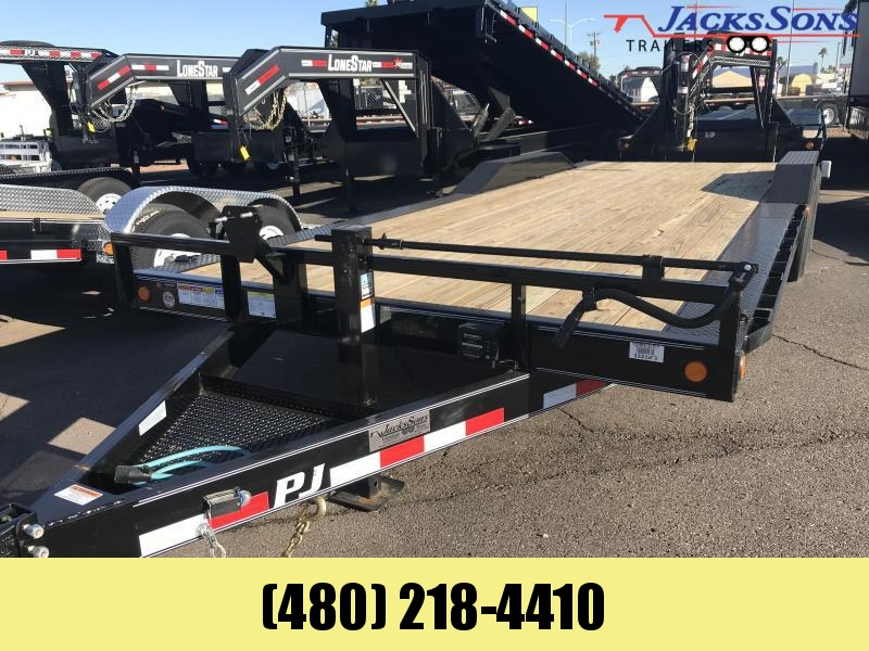 2020 PJ Trailers 102x24 Equipment Trailer