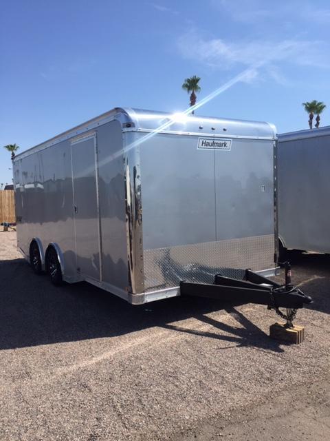 20x8.5 Haulmark Edge Pro Enclosed Cargo Trailer Rental