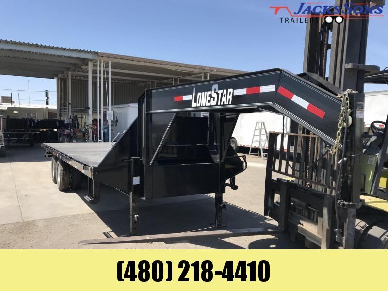 2019 Lonestar 102x26 Flatbed TILT Trailer