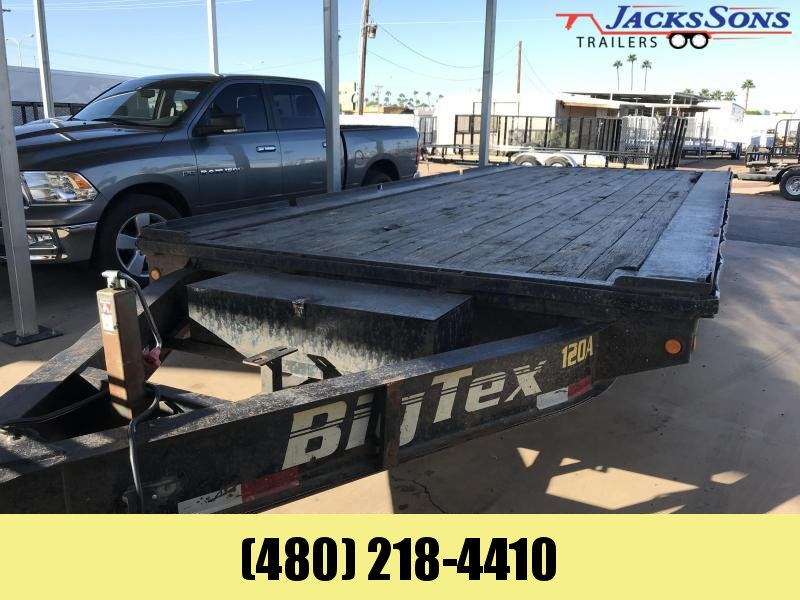 2006 Big Tex Trailers 102X18 Flatbed Trailer