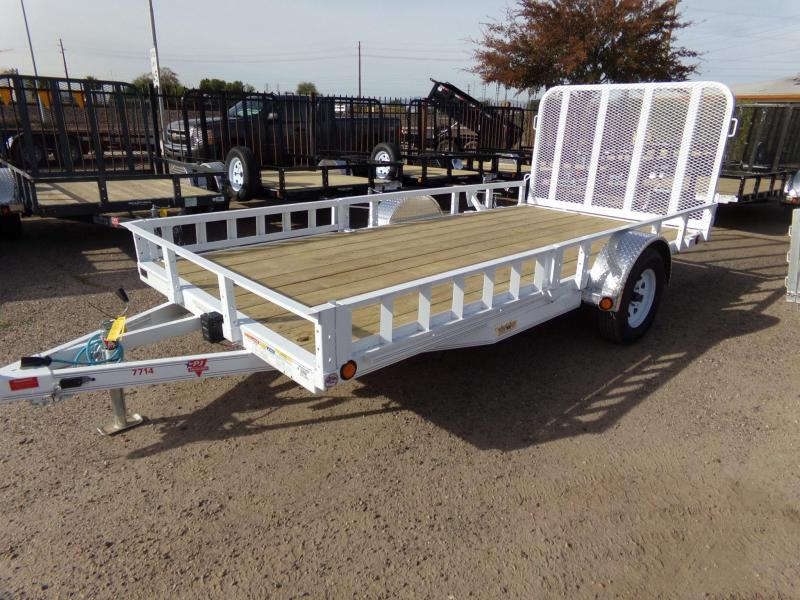 2019 PJ Trailers UTV /ATV UTILITY RAMP TRAILER ATV Trailer