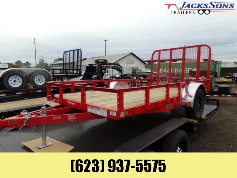 2020 PJ Trailers 12 X 77 ATV / UTV UTILTY Utility Trailer