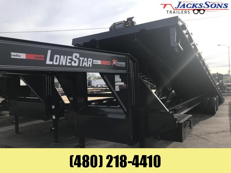 2020 Lonestar 102X40 Equipment TILT Trailer