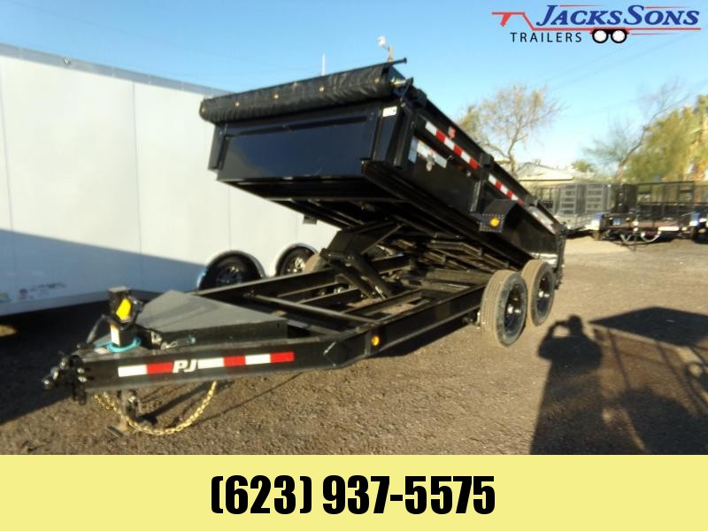 2020 PJ Trailers DL142 14 FT LOW PRO DUMP 14K Dump Trailer