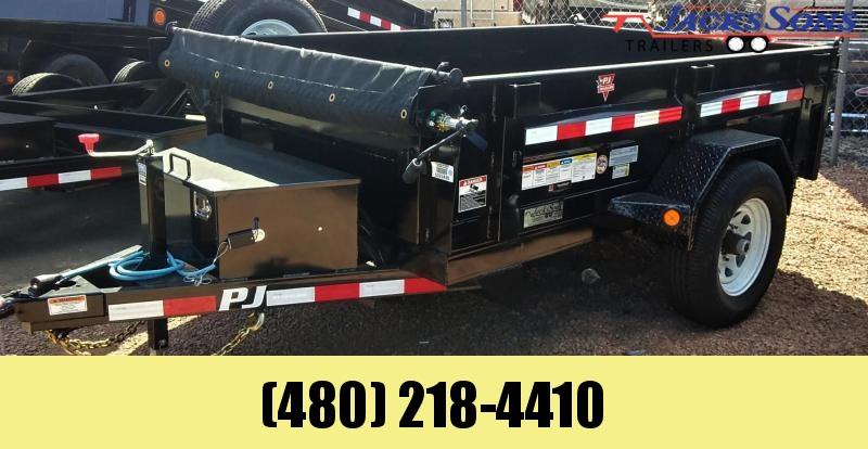 2020 PJ Trailers 8X60 UTILITY DUMP Dump Trailer